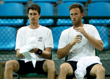 ?? GETTY IMAGES ?? Marcus Daniell and Michael Venus are optimistic about their prospects in Tokyo.