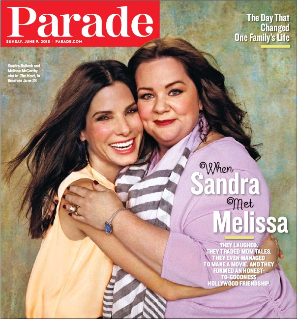 ??  ?? Sandra Bullock and Melissa McCarthy star in The Heat, in theaters June 28