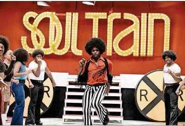 """?? JACE DOWNS/BET/TNS ?? BET's """"American Soul"""" premiered on Tuesday. The 10-part series is based on """"Soul Train."""""""