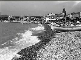 ?? (Photo Gilletta) ?? Des pêcheurs au Cros-de-Cagnes au début du XXe siècle.