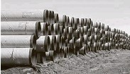 ?? Sue Ogrocki / Associated Pressi file ?? Miles of pipe for the Keystone XL project could be sold for scrap to help Canada recoup some losses, Alberta Premier Jason Kenney said.