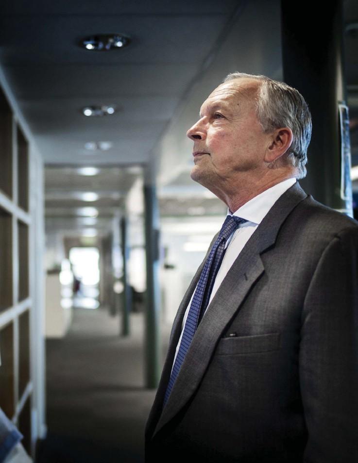 """?? Bild: Anders Ylander ?? """"det är klart det är speciellt, men inte särskilt besvärande sorgligt"""", säger Peter Hjörne om affären som innebär att familjen nu inte längre är största ägare i stampen."""