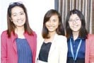 ??  ?? KPMG RGM & Co. supervisors Jhenelyn Soplada and Frylen Manacio and associate lawyer Ria Danielle Ching