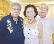 ??  ?? Boysie Villavicencio, Tereret Liboro and Maurice Lim.