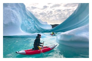 ??  ?? Above: kayaking among icebergs south-east of Qaqortoq. Right: the Viking route offers a true wilderness experience: this is Greenland's Ketils Fjord, a rock climbing mecca for expert mountaineers