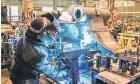 ??  ?? Çin'de imalat satın alma yöneticileri şubatta hız keserek, piyasa beklentilerinin altında kaldı.