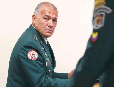 ?? /Andrea Morero - El Tiempo ?? El coronel (r) Publio Hernán Mejía comandó La Popa de 2002 a 2003.