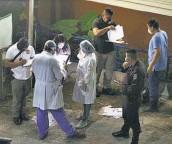 ??  ?? Falleció. Uno de los atacados murió en el hospital Saldaña, de los Planes de Renderos.
