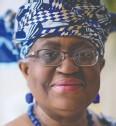 ??  ?? Ngozi Okonjo-iweala