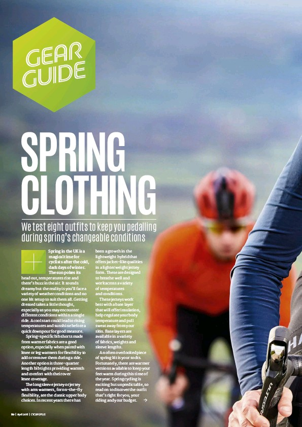 a344c4eec PressReader - Cycling Plus  2018-02-22 - SPRING KIT TESTED