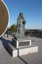 ?? FOTO RR ?? Standbeeld van Johanna.