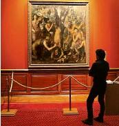 ?? Foto: Zdeněk Němec, MAFRA ?? Mimořádně cenné Tizianovo dílo je v kroměřížské sbírce už od roku 1673, kdy je zakoupil olomoucký biskup Karel z Lichtenštejna-Kastelkornu.