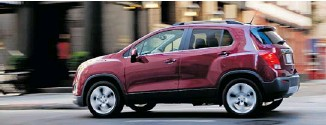 ?? GENERAL MOTORS ?? The 2013 Chevrolet Trax is remarkably composed and refined for non-enthusiast driving chores.