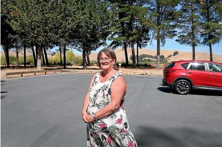 ?? CHLOE RANFORD/STUFF ?? Carolynne Hammond says late night visitors used to leave ''drug paraphernalia''.