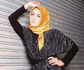 ?? PIC BY MOHD ASRI SAIFUDDIN MAMAT ?? Liza Hanim says 'Mimpi' is the most suitable song for her comeback.