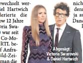 ??  ?? Abgesägt : Victoria Swarovski & Daniel Hartwich