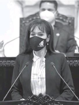 ?? CORTESÍA ?? María Luisa Pérez sugiere un ambiente de civilidad.