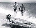 """?? COURTESY HISTORYFORTLAUDERDALE/ ?? The theme of the 1960 film""""Where the Boys Are"""" is explained in a picture taken on Fort Lauderdale Beach, part ofan exhibit at the Galleria mall fromthe collection of History Fort Lauderdale."""