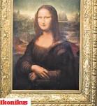 ??  ?? Ikonikus A párizsi Louvre-ban található Mona Lisa talán a világ legismertebb festménye, ez volt a mester kedvence