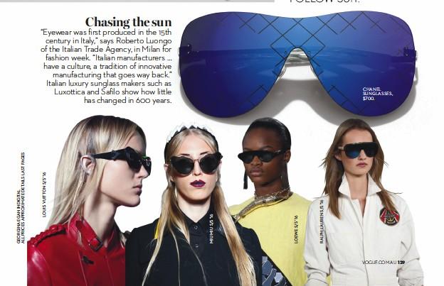 Pressreader Vogue Australia 2016 03 01 Chasing The Sun