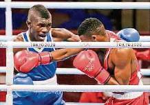 ?? EFE ?? Yuberjen Martínez es la única posibilidad de medalla que le queda al boxeo colombiano en los Olímpico que se cumplen en Tokio.
