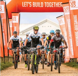 ?? Photo: Oakpics.com ?? Stage three of the 2019 Dr Evil Classic started and finished at Cairnbrogie farm, just outside Plettenberg Bay.