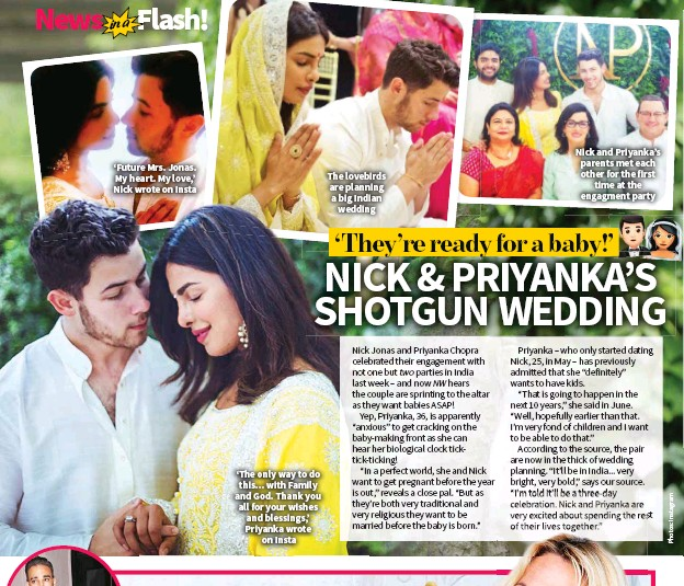 It Ll Be In India Very Bright Bold Says Our Source I M Told A Three Day Celebration Nick And Priyanka Are Excited About