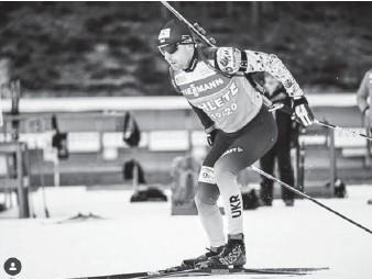 ??  ?? До старту сезону національна біатлонна збірна України готується у фінському Вуокатті. Фото з мережі «Інстаграм».