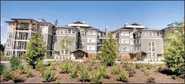 ??  ?? Five of the 30 units in the complex that remain unsold will be auctioned to the highest bidder. Most of the tenants want to see the units sold as much as the developer.