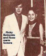 ??  ?? …Ricky Belmonte and Rosemarie Sonora