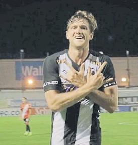 ??  ?? Tomás Bolzicco. Viene de hacer dos goles en el último triunfo.