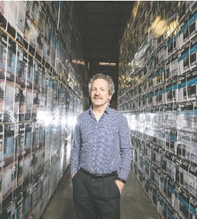 ?? PETER J THOMPSON / NATIONAL POST ?? Danby CEO Jim Estill hopes to be able to re-tool production lines to make much-needed ventilators during the COVID-19 pandemic.