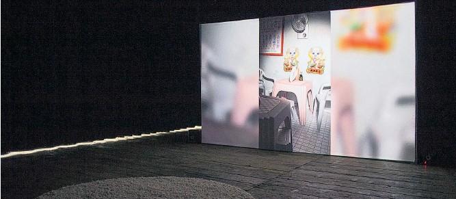 """??  ?? Ein Alltagsgegenstand befreit sich von den Fesseln seiner Funktion: Stefanie Schwarzwimmers Film """"Silent Revolution""""ist bis 29. 6. an der Akademie zu sehen."""