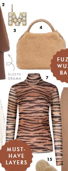 ??  ?? 3 SLEEVE DRAMA MUSTHAVE LAYERS 4 7 F U Z Z YWUZZY BAGS