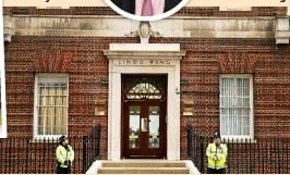 ??  ?? A four- minute drive from Kensington Palace, the Lindo Wing of St Mary's Hospital is all ready for Kate to have her third baby there.