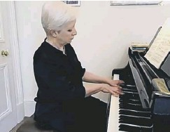 ??  ?? 0 Susan Tomes said she felt a special connection with Schumann