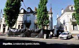 ??  ?? Disparition. La maison des Ligonnès à Nantes.