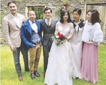 With More Guests Including Dr Hayden Kho Leftmost And Wife Vicki Belo Rightmost
