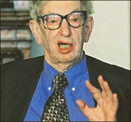 ?? PHOTO: AP ?? Eric Hobsbawm: Stalinist apologist who criticised the Warsaw uprising