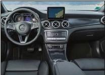 ??  ?? La présentation intérieure du GLA est dans la tradition Mercedes et offre une vraie personnalité.