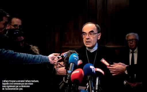 ??  ?? L'affaire Preynat a entraîné l'affaire Barbarin, laquelle s'est terminée par une relaxe mais également par sa démission de l'archevêché de Lyon.