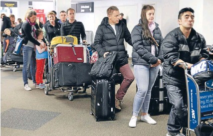?? Photo: FAIRFAX NZ ?? Incoming: A total of 2.86 million people visited New Zealand in 2014, up 5 per cent on the previous year.