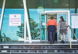 ??  ?? Hundreds of Shoalhaven residents and property owners registered with the Ulladulla Disaster Recovery Centre to gain support and assistance with bushfire recovery.