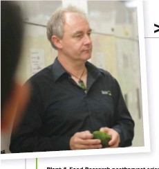 ??  ?? Plant & Food Research postharvest science team leader, Dr Allan Woolf, the co-convener of Postharvest 2020, says growers who attend its industry day will gain up-to-date information from experts from around the world.