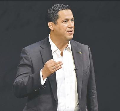 ??  ?? El gobernador detalló que no sólo se potencia el Bajío por el sector automotriz, sino por la actividad agroalimentaria. José González