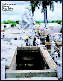 ??  ?? Andres Serrano, Cemetery Simon Bolivar, Trinidad 2012.