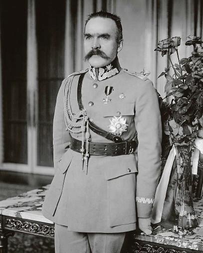 ?? FOTO ČTK ?? Hlavní snahou faktického vůdce Polska Józefa Piłsudského bylo vymezit a stabilizovat hranici s bolševickým Ruskem
