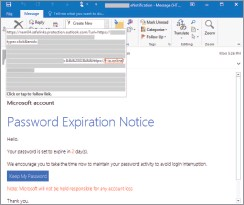 ?? ?? Microsoft has some examples of phishing attacks on its website.