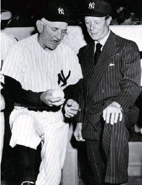??  ?? In 1953, the horrible Duke of Windsor at Yankee Stadium. (The Print Collector / Alamy Stock Photo)