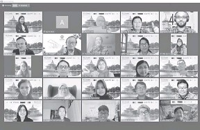??  ?? MENGGALAKKAN: Persidangan itu dihadiri oleh lebih 100 orang dari rantau Asia Tenggara.